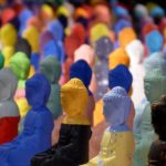 Iki Artstudio, Olivier Morel, 10 000 Bouddhas