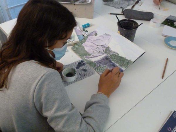 Iki Artstudio Olivier Morel cours de dessin peinture